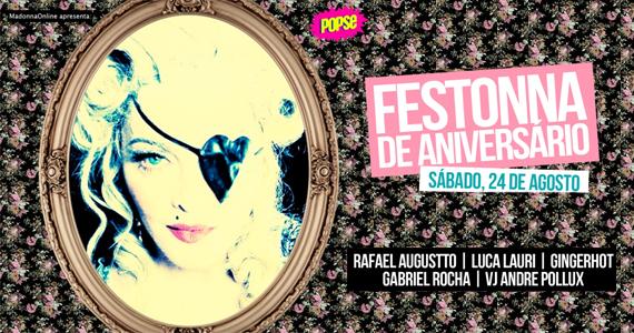 Sábado na Lôca tem Festona de Aniversário em homenagem à Madonna Eventos BaresSP 570x300 imagem