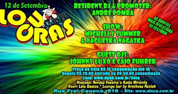 Festa Locuras agita a noite de quinta-feira com convidados nA Lôca Eventos BaresSP 570x300 imagem