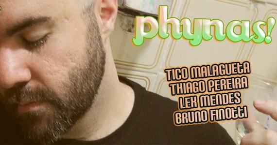 A Lôca tem festa Phynas com o convidado Thiago Pereira, a Cleycianne do Facebook Eventos BaresSP 570x300 imagem