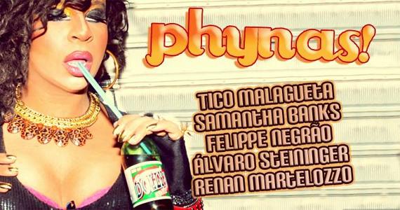 Festa Phynas agita a noite desta quarta-feira no Club A Lôca Eventos BaresSP 570x300 imagem