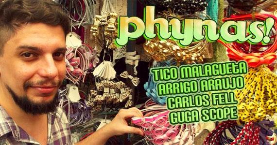 Phynas nesta quarta-feira recebe o DJ Arrigo Arraujo na Lôca Eventos BaresSP 570x300 imagem