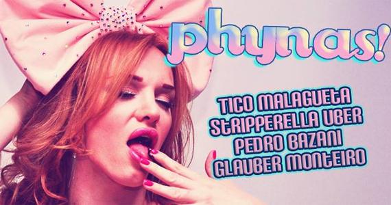 Festa Phynas embala a quarta-feira dA Lôca com Djs convidados Eventos BaresSP 570x300 imagem