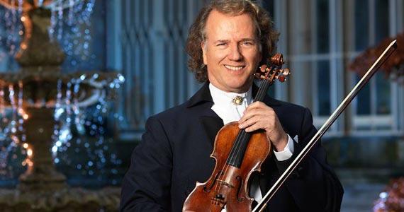 Andre Rieu & Orquestra Johann Strauss se apresentam durante o mês de outubro no Ginásio do Ibirapuera Eventos BaresSP 570x300 imagem
