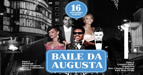 Acontece no sábado o Baile da Augusta no Anexo B com soul, rock, pop e disco Eventos BaresSP 570x300 imagem