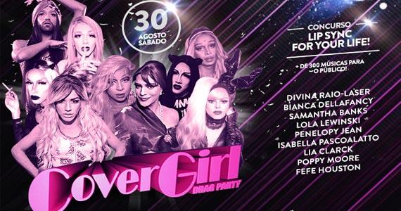 Acontece no sábado a Festa Cover Girl Drag Party no Anexo B Eventos BaresSP 570x300 imagem