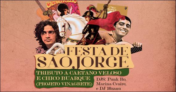 Anexo B apresenta no feriado a Festa de São Jorge  Eventos BaresSP 570x300 imagem