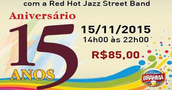 Choperia Genuíno comemora aniversário de 15 anos com show da Banda Red Hot Street Band Eventos BaresSP 570x300 imagem
