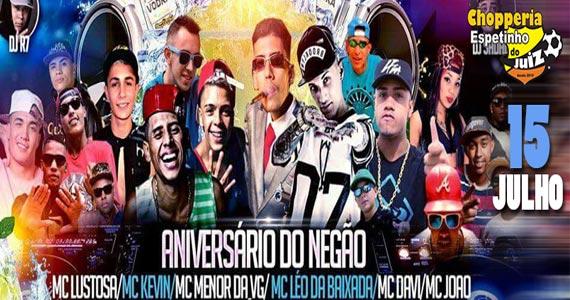 Espetinho do Juiz realiza Festa Pagofunk com Aniversário do MC Negão e convidados Eventos BaresSP 570x300 imagem