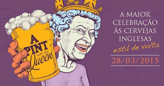 A Pint With The Queen acontece em março numa fábrica desativada no bairro do Brás Eventos BaresSP 570x300 imagem