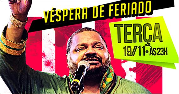 Carioca Interlagos apresenta na véspera de feriado o show de Arlindo Cruz Eventos BaresSP 570x300 imagem
