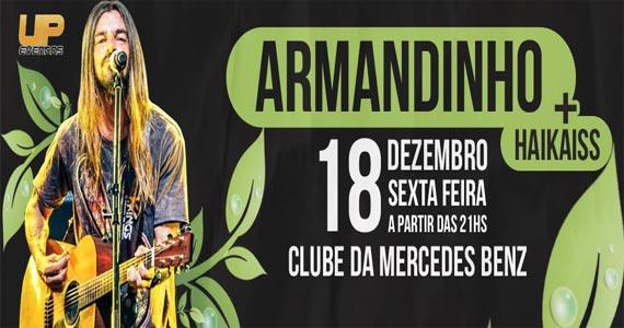 Show do Armandinho e Haikaiss no Clube da Mercedes na sexta Eventos BaresSP 570x300 imagem