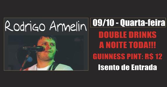 Rodrigo Armelin leva noite de rock para a quarta-feira do Republic Pub Eventos BaresSP 570x300 imagem