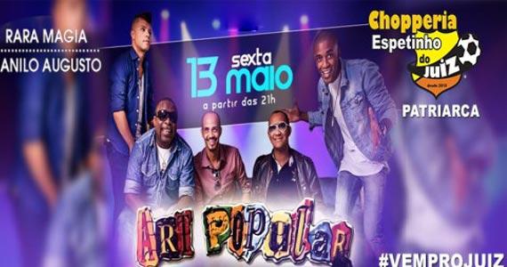 Art Popular leva o melhor do samba para o Bar Espetinho do Juiz Eventos BaresSP 570x300 imagem