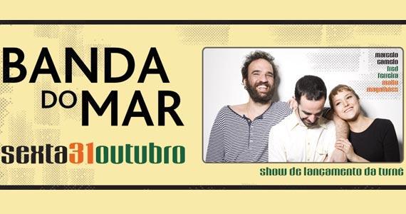 Banda do Mar com show de lançamento da turnê em São Paulo na Audio Club Eventos BaresSP 570x300 imagem