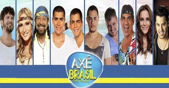 Timaço de artistas estrelam Axé Brasil São Paulo no Anhembi Parque neste sábado  Eventos BaresSP 570x300 imagem