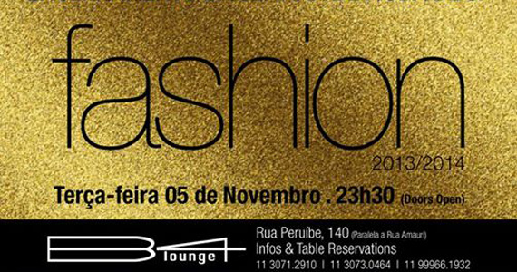 Festa de encerramento da Semana de Moda de SP no B4 Lounge Eventos BaresSP 570x300 imagem