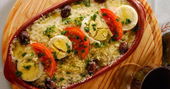 Bacalhau à Zé do Pipo com chopp, caipirinhas e vinho para acompanhar no Elidio Bar Eventos BaresSP 570x300 imagem