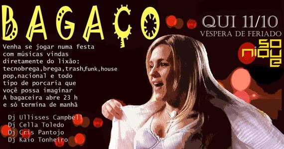 Sonique faz festa Bagaço em homenagem a Carminha na quinta-feira Eventos BaresSP 570x300 imagem