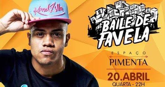 Baile de Favela com Mcs João e Davi esquenta a pista do Espaço Pimenta na véspera de feriado Eventos BaresSP 570x300 imagem