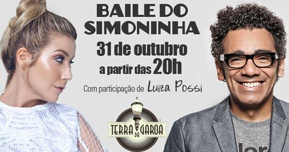 Baile do Simoninha com participação especial de Luiza Possi no Terra da Garoa Eventos BaresSP 570x300 imagem