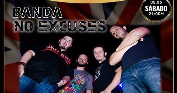 Banda No Excuses toca muito Rock animando o London Station Eventos BaresSP 570x300 imagem