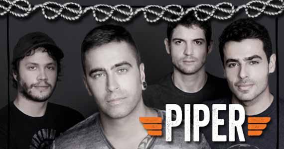 Banda Piper comanda a noite de sábado no All Black com muito rock Eventos BaresSP 570x300 imagem