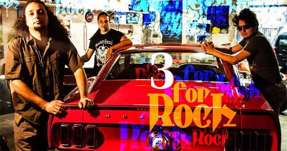 Banda Three For Rock agita a noite de quarta-feira no St. John's Irish Pub Eventos BaresSP 570x300 imagem