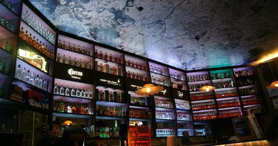 Agito na noite de sábado do Bar Aurora, localizado no Itaim Bibi Eventos BaresSP 570x300 imagem