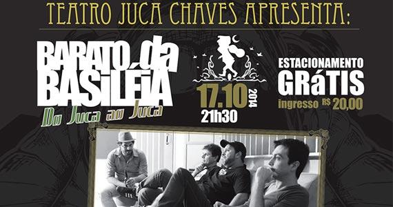 Barato da Basiléia com o show do Juca ao Juca no Teatro Juca Chaves Eventos BaresSP 570x300 imagem