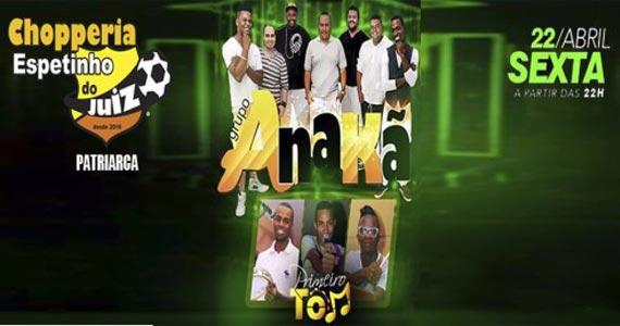 Sexta é dia de samba com Jorge Canti, Primeiro Tom e grupo Anakã no Bar Espetinho do Juiz Eventos BaresSP 570x300 imagem