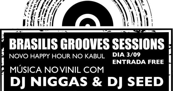 Bar Kabul tem happy hour com Brasilis Grooves Sessions Eventos BaresSP 570x300 imagem