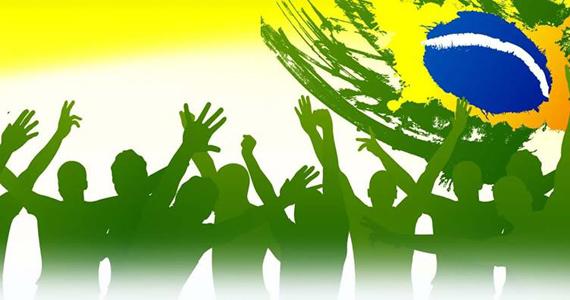 Barnaldo Lucrécia transmite ao vivo o jogo do Brasil contra a Alemanha Eventos BaresSP 570x300 imagem