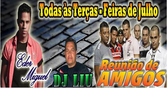 Pagodeira com Eder Miguel, DJ Liu e Reunião de Amigos na Barracuda Eventos BaresSP 570x300 imagem