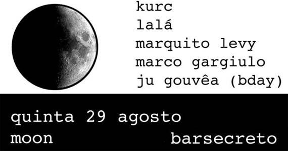 Festa Moon agita quinta-feira no Bar Secreto com o melhor do House e Disco Eventos BaresSP 570x300 imagem