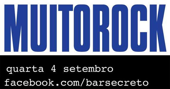 Festa Muito Rock agita a quarta-feira no Bar Secreto com convidados Eventos BaresSP 570x300 imagem