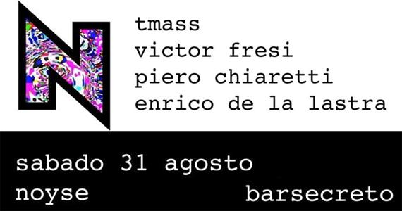 Festa Noyse estreia neste sábado agitando o Bar Secreto Eventos BaresSP 570x300 imagem