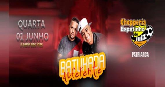 Quarta Samba e Pagode com Batukada Diferente agita o Bar Espetinho do Juiz Eventos BaresSP 570x300 imagem