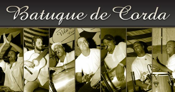 Banda Batuque de Corda se apresenta na balada Traço de União Eventos BaresSP 570x300 imagem