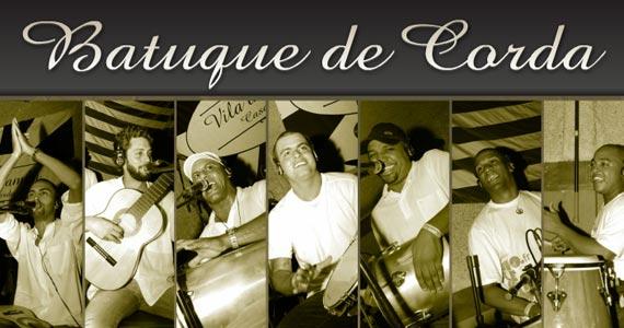 Batuque de Corda e DJ Tadeu animam o público na balada Traço de União Eventos BaresSP 570x300 imagem