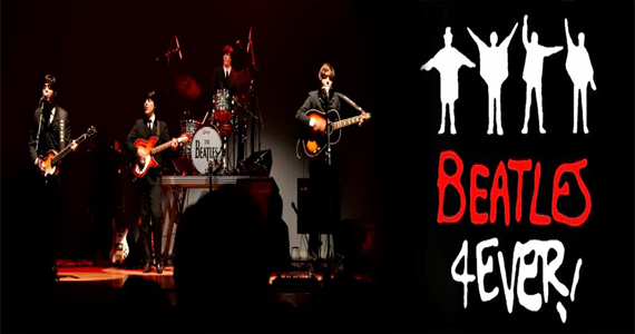 Quartas Musicais do Teatro Fernando Torres apresenta a banda Beatles 4 Ever Eventos BaresSP 570x300 imagem