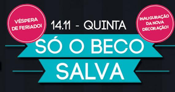 Beco 203 apresenta festa especial na véspera de feriado Eventos BaresSP 570x300 imagem