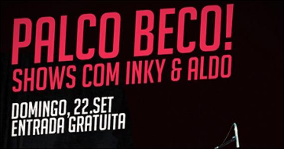 Apresentação de Inky & Aldo neste domingo no Beco 203 Eventos BaresSP 570x300 imagem