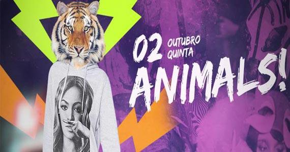 Festa Animals nesta quinta com Indie rock animando a noite do Beco 203 Eventos BaresSP 570x300 imagem