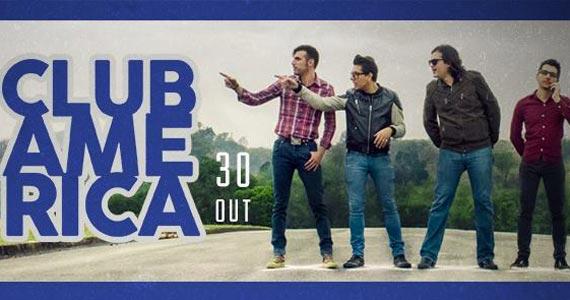 Beco 203 recebe show da banda Club America tocando muito pop rock na quinta-feira Eventos BaresSP 570x300 imagem