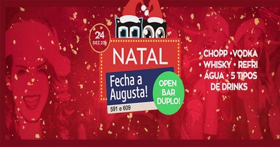 Beco 203 realiza Festa Fecha Augusta de Natal com muitas atrações Eventos BaresSP 570x300 imagem