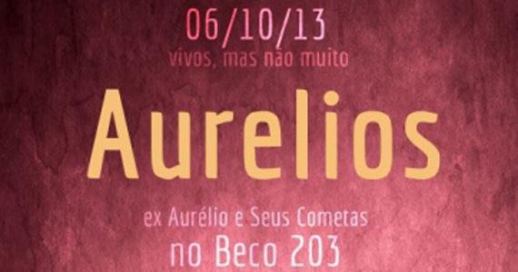 Projeto Palco Beco recebe banda Aurélios para esquentar a noite de domingo no Beco 203 Eventos BaresSP 570x300 imagem