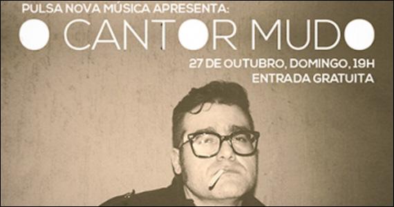Apresentação de O Cantor Mudo e a Sonora Vaia na noite Pulsa Nova Música no Beco 203 Eventos BaresSP 570x300 imagem