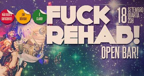 Festa Fuck Rehab agita a noite de quarta com open bar no Beco 203 Eventos BaresSP 570x300 imagem
