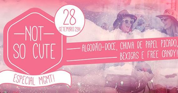 Festa Not So Cute agita a noite de sábado do Beco 203 com especial MGMT Eventos BaresSP 570x300 imagem