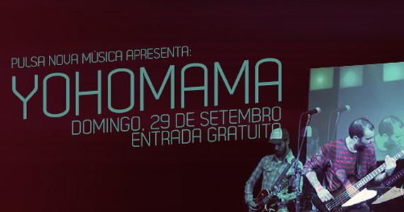 Pulsa Nova Música apresenta a banda Yohomama neste domingo no Beco 203 Eventos BaresSP 570x300 imagem